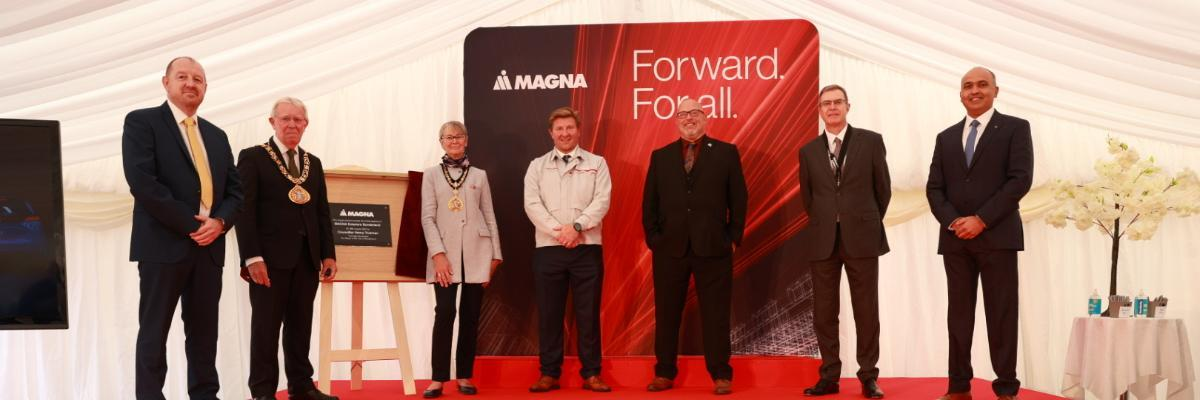 Sunderland car parts facility officially opened