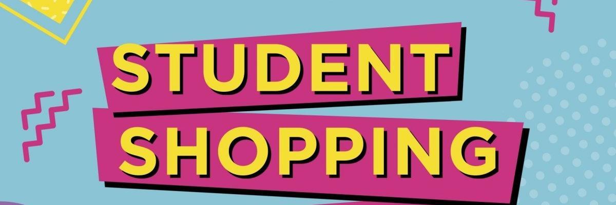 Student shopping night